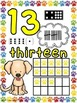 Number Posters: Dog Theme (Numbers 0-20)
