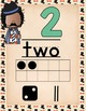 Number Posters Hipster Theme