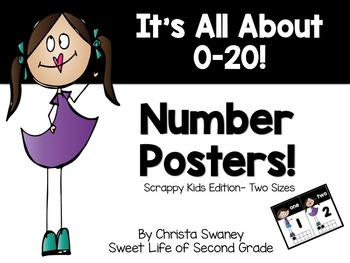 Number Posters: It's All About 0-20!