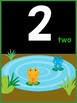 Number Posters - Jungle Theme