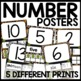 Jungle Themed Number Posters