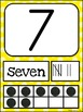 Number Posters MIX AND MATCH (YELLOW Scribble)