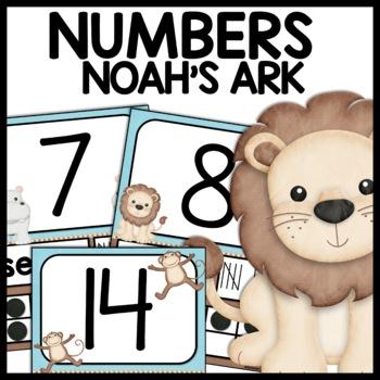 Number Posters (Noah's Ark)