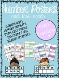 Number Posters - Number Task Cards
