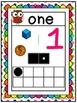 Number Posters ~ Owl theme & Polka Dots! A-Z Teacher Treasure Hunter