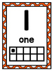 Number Posters Rainbow Dots (Numbers 0-10)