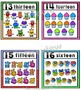 Number Posters Set ~ 1 – 20 {Crayon Theme}