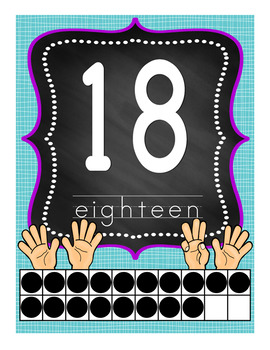 Number Posters Set 1