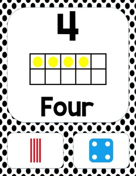 Number Posters Set 1 (to 20)