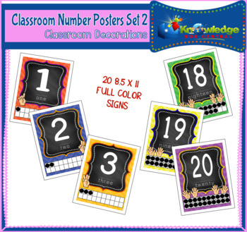 Number Posters Set 2