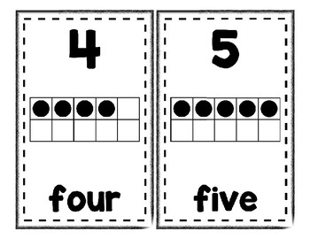 Number Posters Set 3 * Create Your Own Room * Preschool Daycare