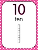 Number Posters - Skip Counting by 10 with Base Ten