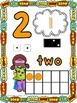 Number Posters: Super Hero Kids Theme (Numbers 0-20)