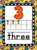 Number Posters - Super Hero Theme