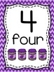 Number Posters - With Pictures, Tens Frames, and Number Formation Poems