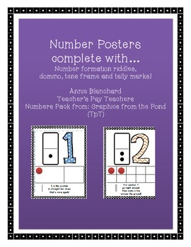 Number Posters and Riddles