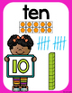 Number Posters from 0 to 20- Neon Frames