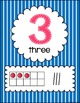 Number Posters (stripes)