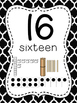 Number Posters to 100 (1-20 and all the tens) - Moroccan B