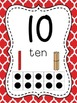 Number Posters to 100 (1-20 and all the tens) - Moroccan R