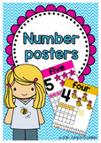 Number Posters to 20
