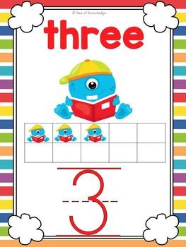 Number Posters to Twenty
