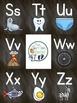 Alphabet Poster Set - Chalkboard Design