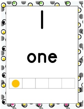 Number Posters with 10 Frames