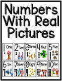 Number Posters with REAL Photos