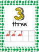 Number Posters with Ten Frames 1-20 Dinosaur Theme