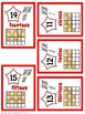 Number Posters with Tens Frames - Red