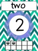 Number Posters with words and ten frames