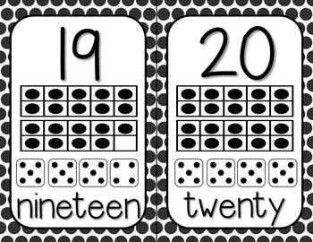 Number Postrs (1-20)