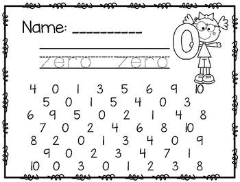 Number Practice~ 0-10