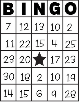 Number Sense 1-30