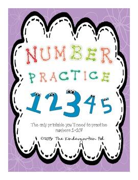 Number Practice 1 - 10