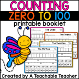 100th Day of School   Counting to 100 Book!