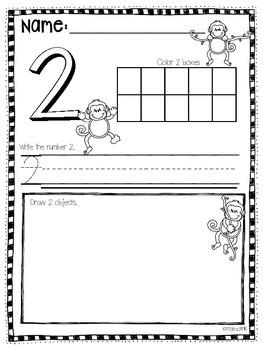 Number Practice 1-19