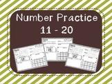 Number Practice 11 - 20