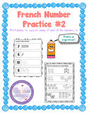 French Number Practice - Pack #2