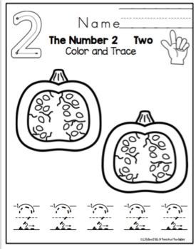 Number Practice -2 Sets
