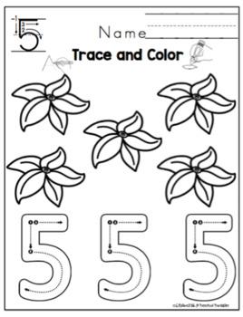 Pumpkin Number Practice -2 Sets