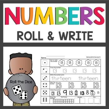 Number Practice Activities