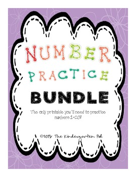 Number Practice BUNDLE!