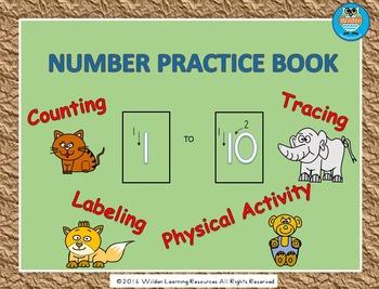 Number Practice Book