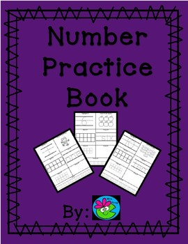 Morning Work Number Practice Book