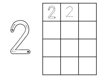 Number Practice Booklet