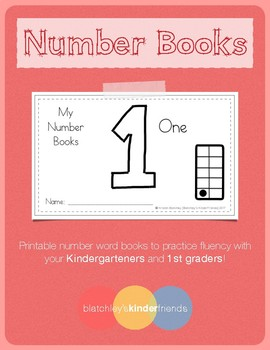 Number Practice Books - 1 [One]
