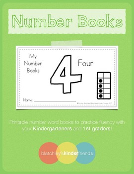 Number Practice Books - 4 [Four]