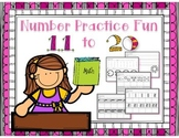 Number Practice Fun 11-20